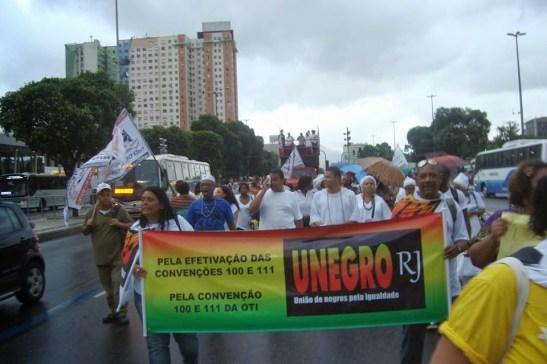 UNEGRO in Rio de Janeiro