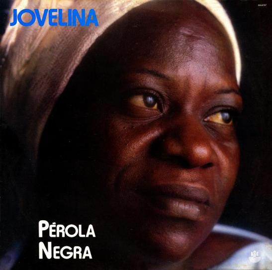 Jovelina Pérola Negra on the cover of her first album in 1986