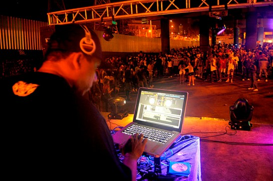 Michel, Madureira's resident DJ for more than 20 years