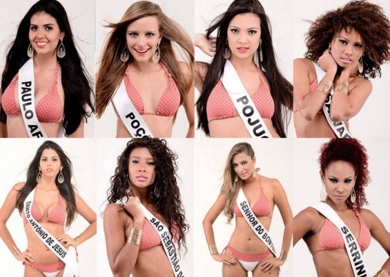 Miss Bahia 2014 contestants