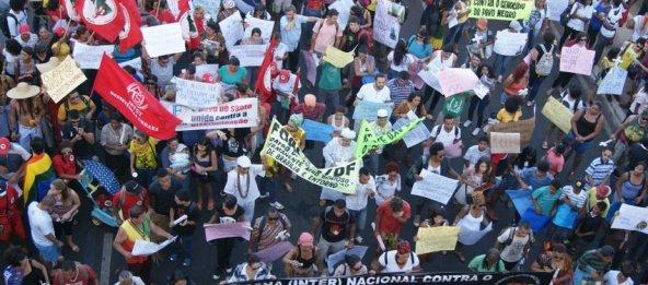 The March in Brasília