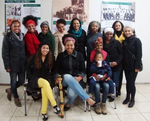 Event of the Juventude Negra Feminina (Feminine Black Youth) of Santa Maria in August of 2013