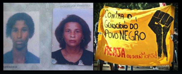 Marcha - Parentes de mãe e filha mortas em tiroteio no Rio prestam depoimento
