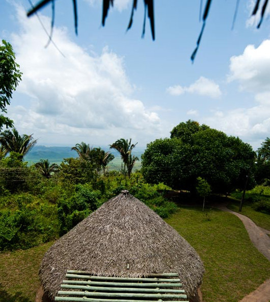 View from Palmares Memorial Park in the state of Alagoas