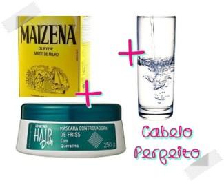 """Ingredients of the """"Touca de gesso"""""""