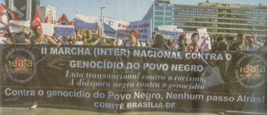 Brasília - the struggle against racism in the nation's capital