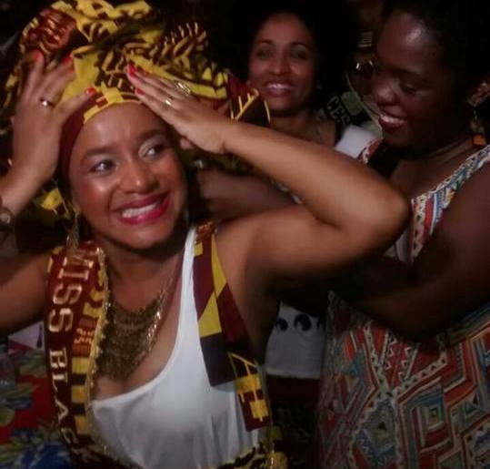 Maria Priscila dos Santos of Bahia was crowned the first Miss Black Power Brasil