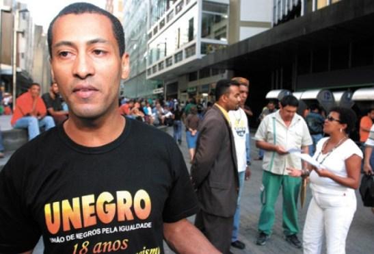 Alexandre Braga, director of communications of the União dos Negros pela Igualdade
