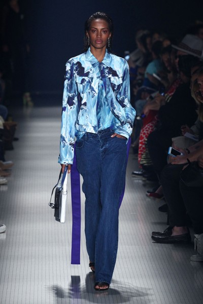 On the runway of Vitorino Campos