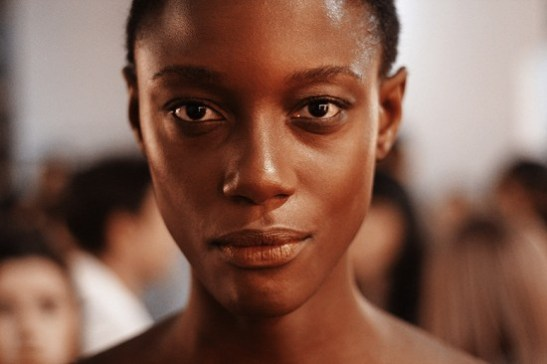 """""""You look around and don't see any black women, the only black woman that I'm seeing here is me,"""" says Mariane Calazan backstage at SPFW"""