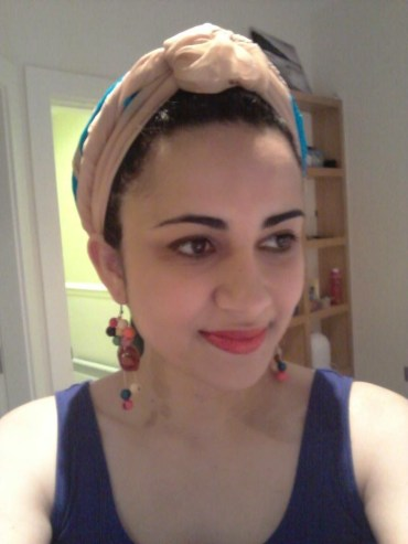 Flávia Simas: Little me in a turban :)