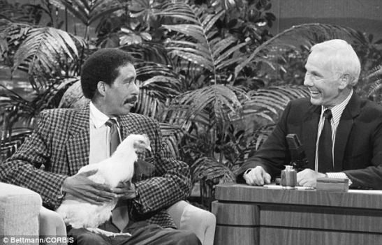 Comedian Richard Pryor on Johnny Carson's 'Tonight Show'