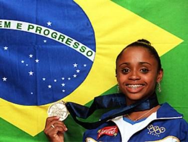 Daiane dos Santos é a maior ginasta de todos os tempos no Brasil e conseguiu até mesmo batizar um salto com o seu sobrenome