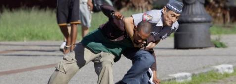 Confrontation with police is always a possibility when one is a black male in Brazil