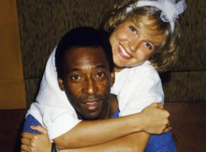 Xuxa was once involved in a very public relationship with 'O Rei', the King of futebol, Pelé
