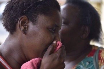 A grieving mother