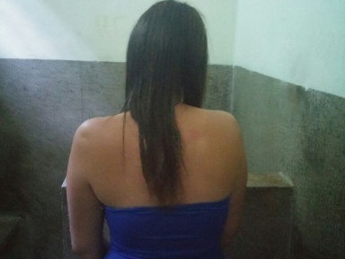 Woman caught with marijuana cigarette had offended black MP in Brasília (Photo: Military Police)