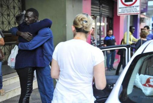 Cheikh Oumar Foutyou Diba at Civil Police station