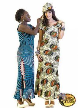 África Arte clothing ad