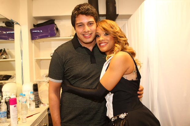 Leilah Moreno e o marido, Luis Roberto Arruda
