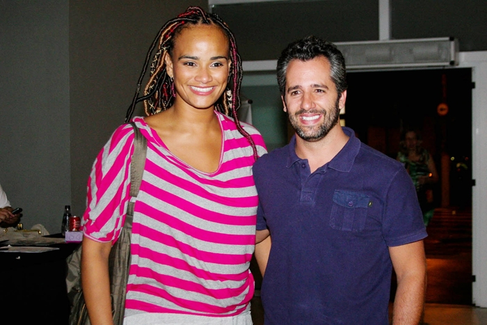 Luciano Mello e marido Ike Levy