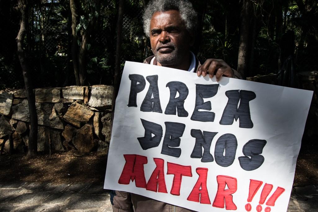 Adão, cansado de ver PMs matando jovens negros - Foto - Daniel Arroyo, Ponte