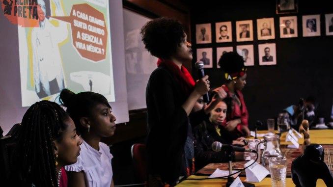fechamento da atividade foi feito por estudantes negras de medicina