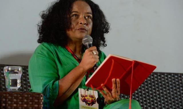 a escritora ana maria gonc3a7alves na abertura do festival latinidades 2014