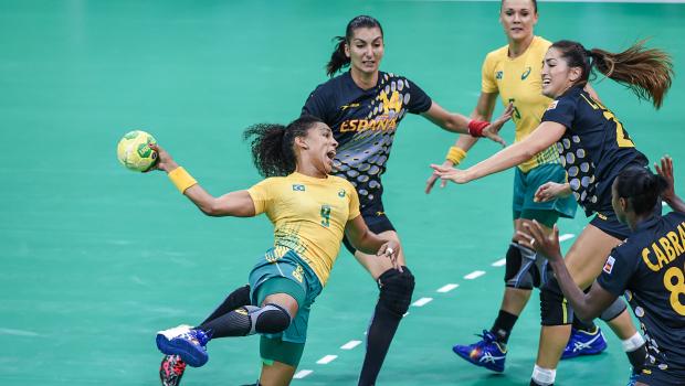 Ana Paula em ação nos Jogos Olímpicos do Rio. Foto - Wander Roberto-COB