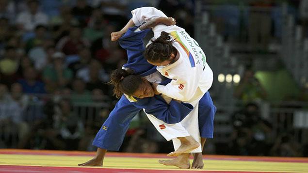 Judo - Women -57 kg Final - Gold Medal Contest