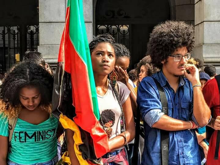 Estudantes dos Cursinhos da Uneafro