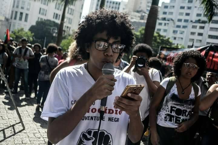 Kaio Gabriel, militante da Uneafro Brasil
