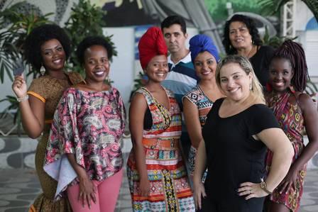 Organização e integrantes da Feira Black
