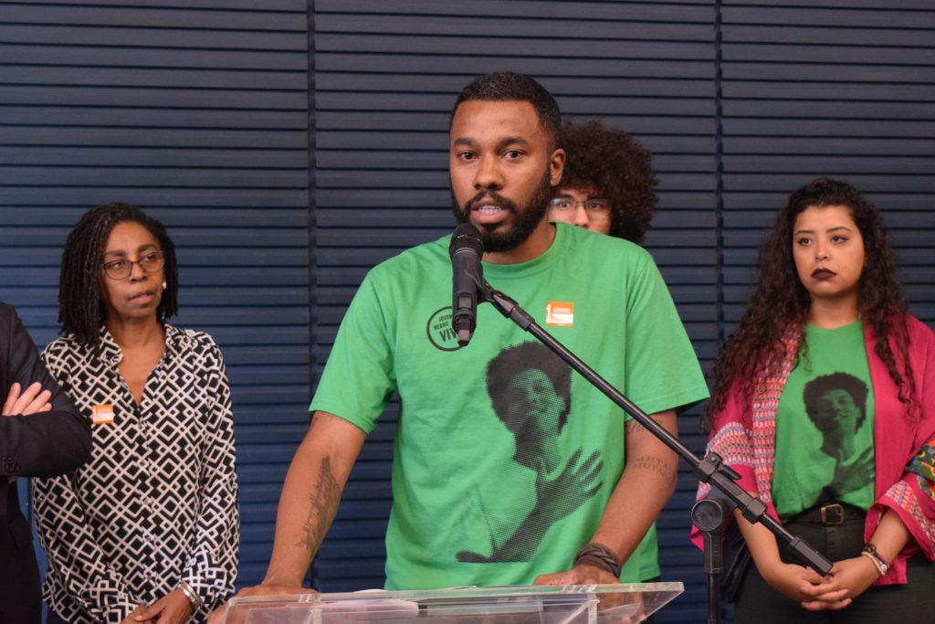 Joel Luiz Costa abordou a dificuldade de acessar um direito fundamental para superar a violência