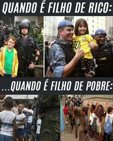 Police - child is rich, child is poor (SM)