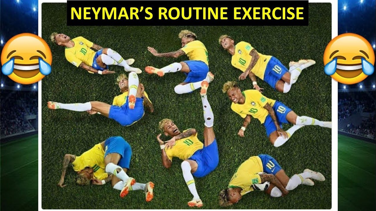 neymar favorite exercise