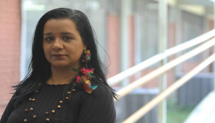 A professora Josivânia Freitas