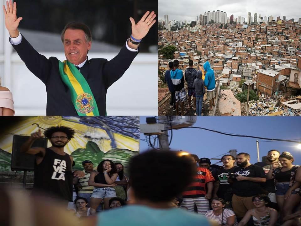 Bolsonaro favela capa