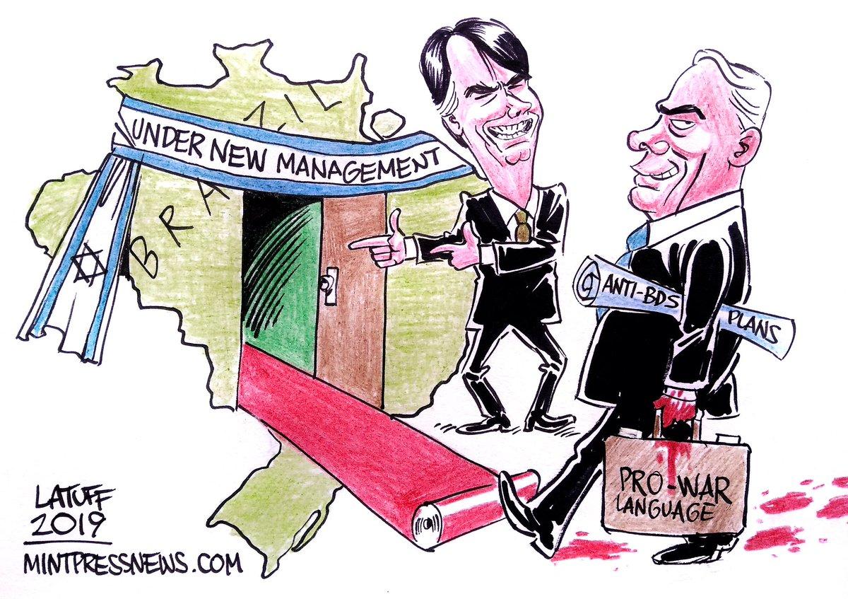 Latuff - Bolsonaro
