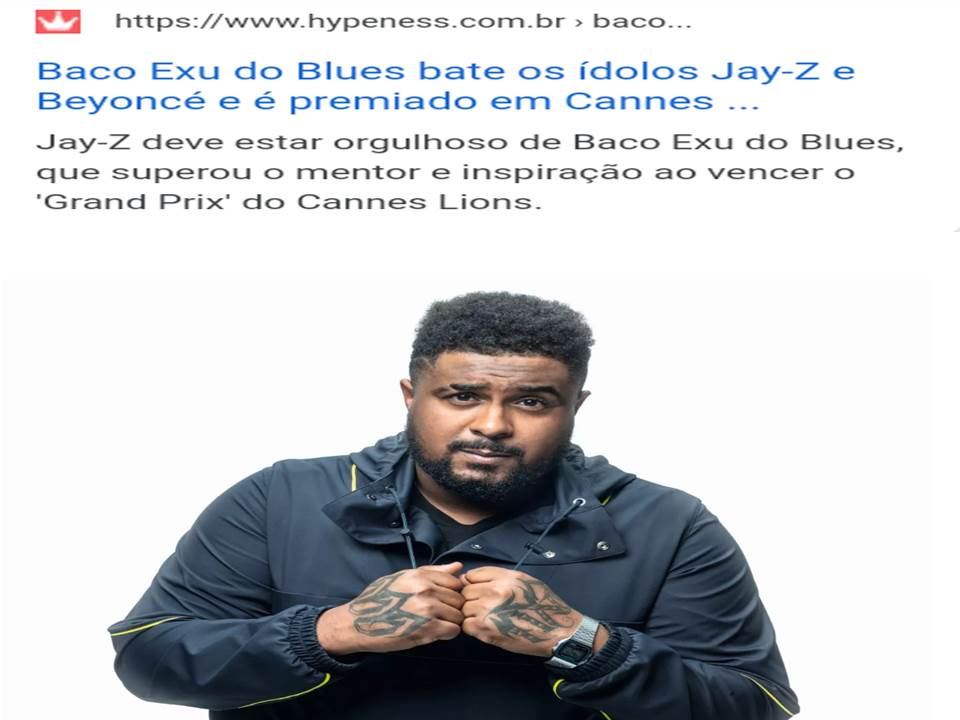 Baco Exu do Blues beats out Jay-Z | Music award festival in France