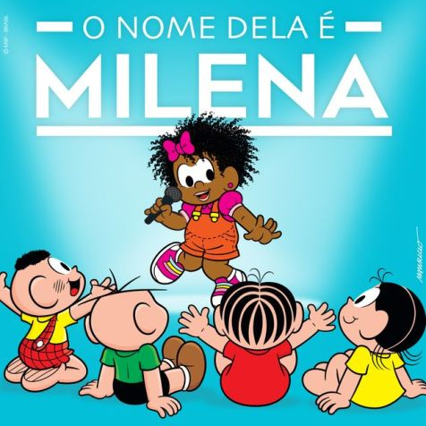 Turma da Mônica turns Milena into Ariel after Disney announcement