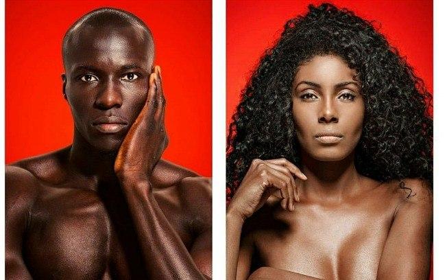 Abdu Dia e Caetana Santos (beauty in black bodies: Deconstructing the ideal standard of whiteness)