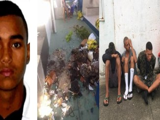 8 Suspects of Plundering of Afro Brazilian religious temples are arrested