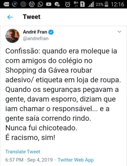Andre tweet1