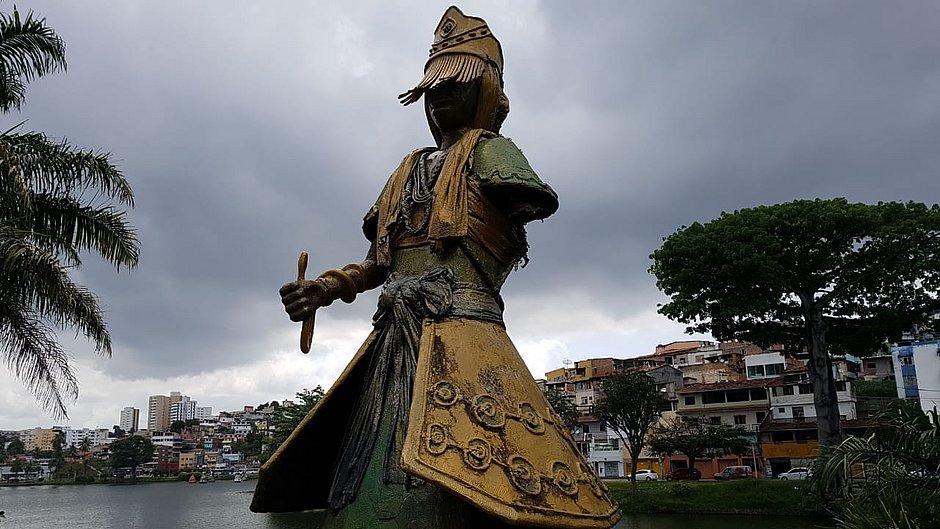 Orisha Statue is a Target of Vandalism in Salvador   Bahia