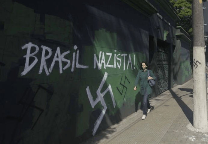 Brazil Contains 334 Nazi Cells Active Throughout The Country