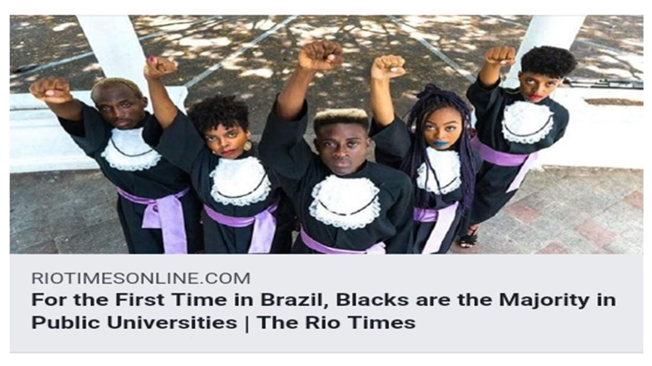 Blacks are The Majority in Brazil's Public Universities | Black Brazil