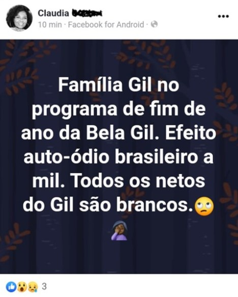 Embranquecimento - Gilberto Gil - e. Fpg