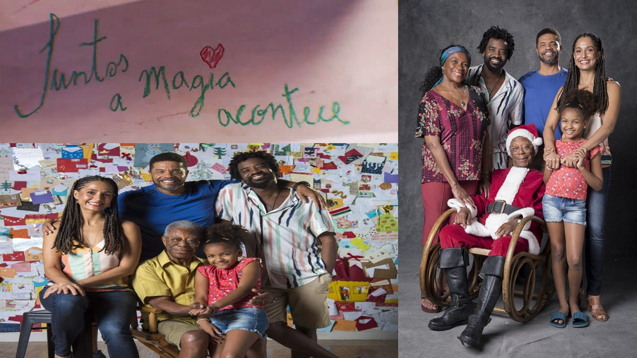 The protagonist of a Globo TV Christmas special Will be a Black Family