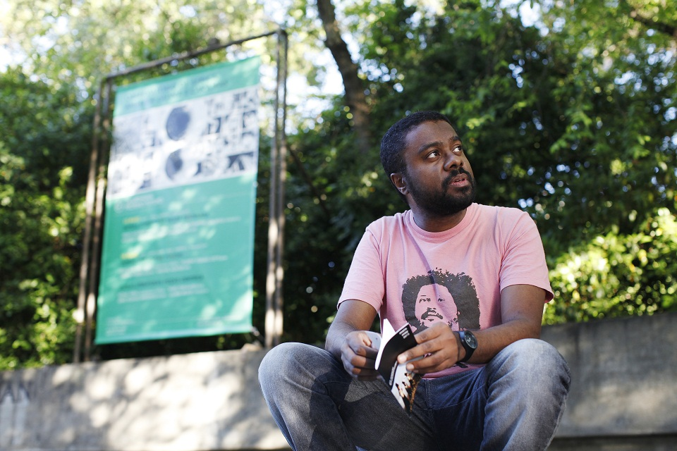 """marcelo d salete autor do livro """"Cumbe"""" (Book about black resistance to slavery become mini-series in the US)"""